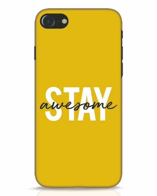 Shop Stay Awesome iPhone 8 Mobile Cover-Front
