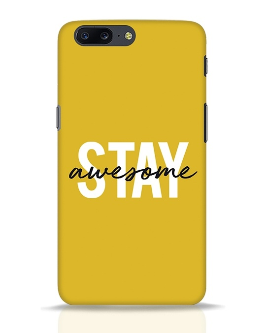 Shop Stay Awesome OnePlus 5 Mobile Cover-Front