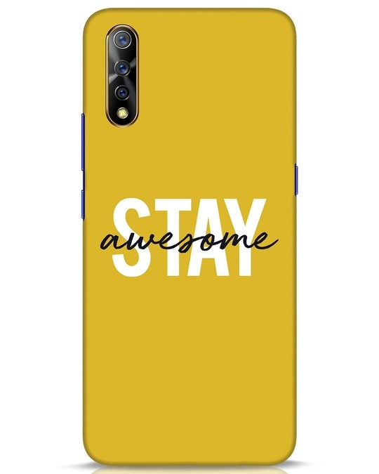 Shop Stay Awesome Vivo S1 Mobile Cover-Front