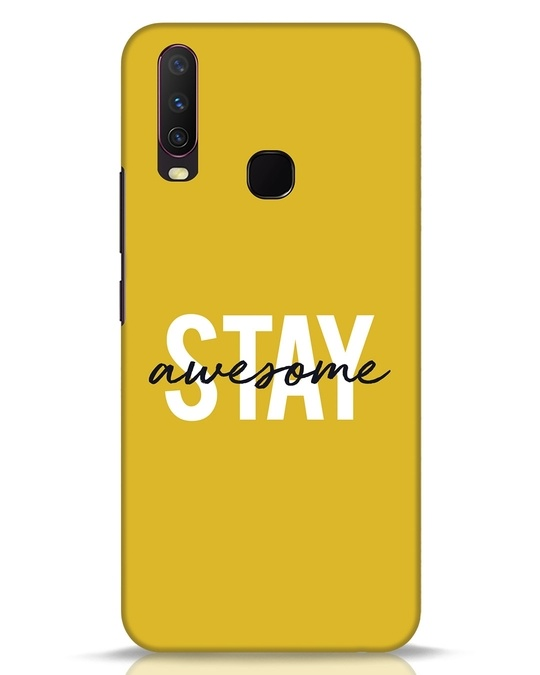 Shop Stay Awesome Vivo Y17 Mobile Cover-Front