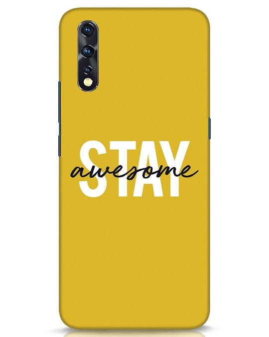 Shop Stay Awesome Vivo Z1x Mobile Cover-Front