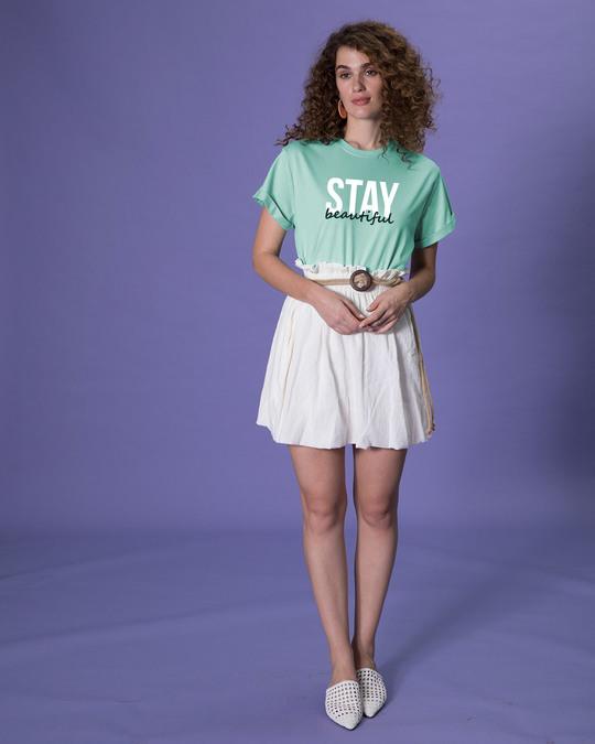 Shop Stay Beautiful Boyfriend T-Shirt