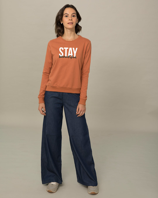 Shop Stay Beautiful Sweatshirt-Design