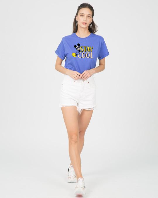 Shop Stay Cool Mickey Boyfriend T-Shirt (DL)-Full