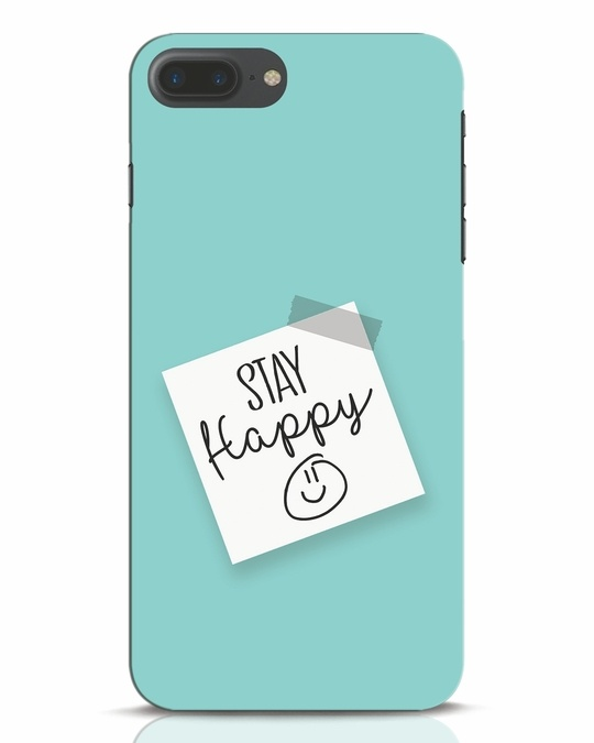 Shop Stay Happy Smile iPhone 7 Plus Mobile Cover-Front