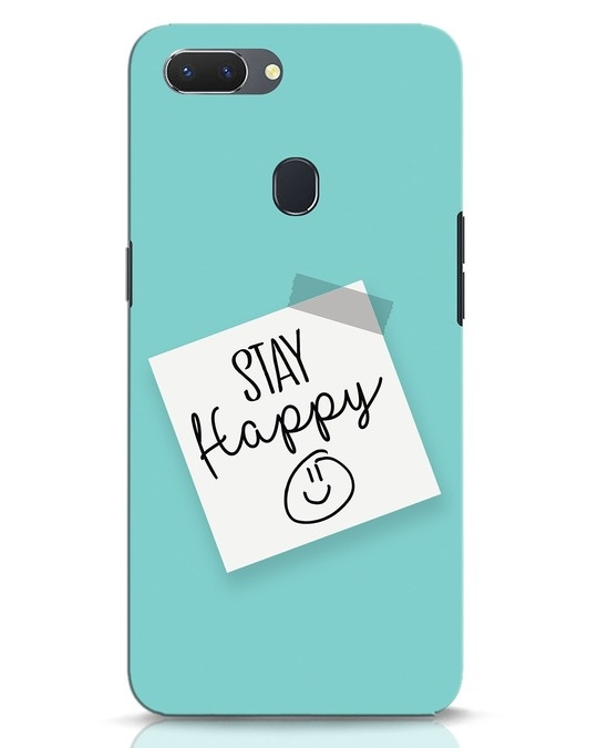 Shop Stay Happy Smile Realme 2 Mobile Cover-Front