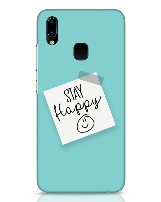 Shop Stay Happy Smile Vivo Y93 Mobile Cover-Front