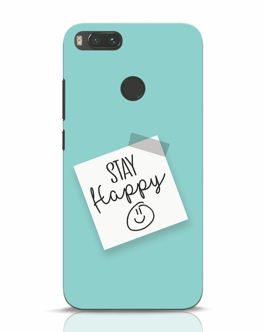 Shop Stay Happy Smile Xiaomi Mi A1 Mobile Cover-Front
