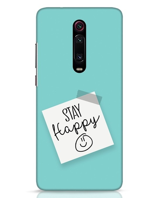 Shop Stay Happy Smile Xiaomi Redmi K20 Mobile Cover-Front