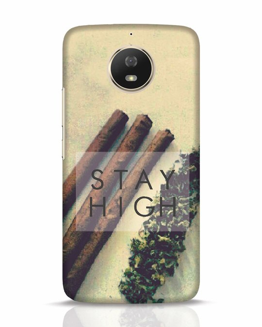 Shop Stay High Moto G5s Mobile Cover-Front