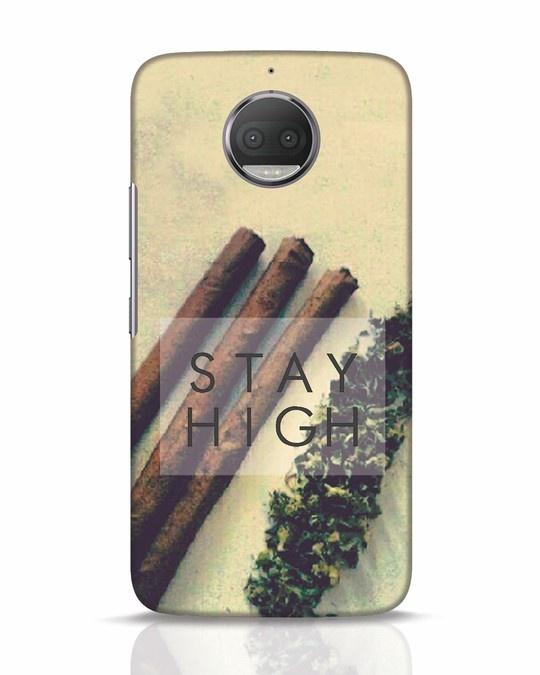 Shop Stay High Moto G5s Plus Mobile Cover-Front
