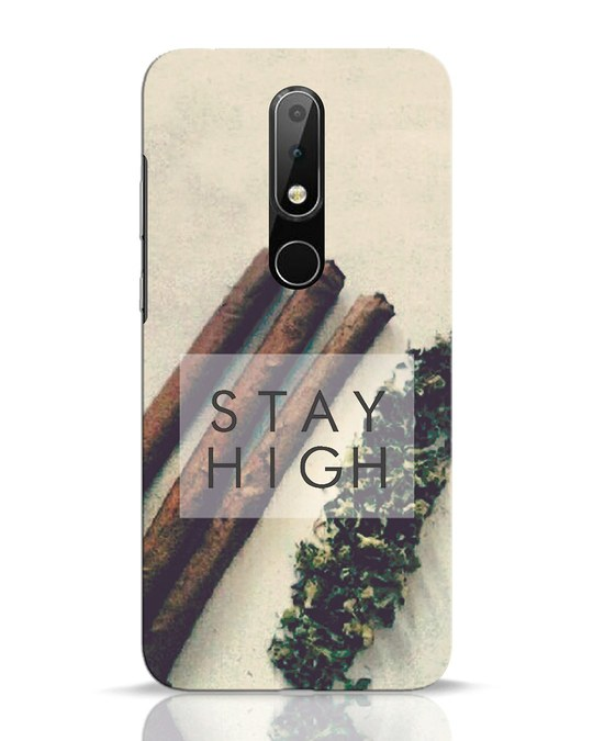 Shop Stay High Nokia 6.1 Plus Mobile Cover-Front