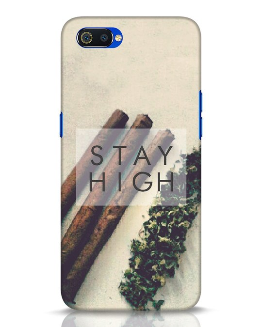 Shop Stay High Realme C2 Mobile Cover-Front