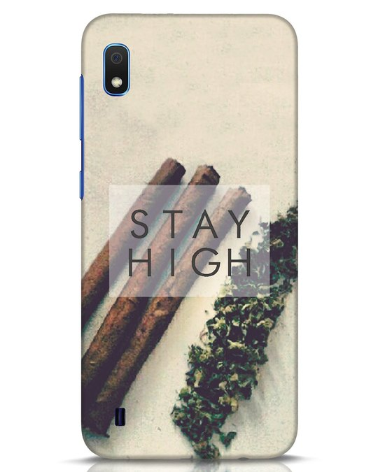 Shop Stay High Samsung Galaxy A10 Mobile Cover-Front