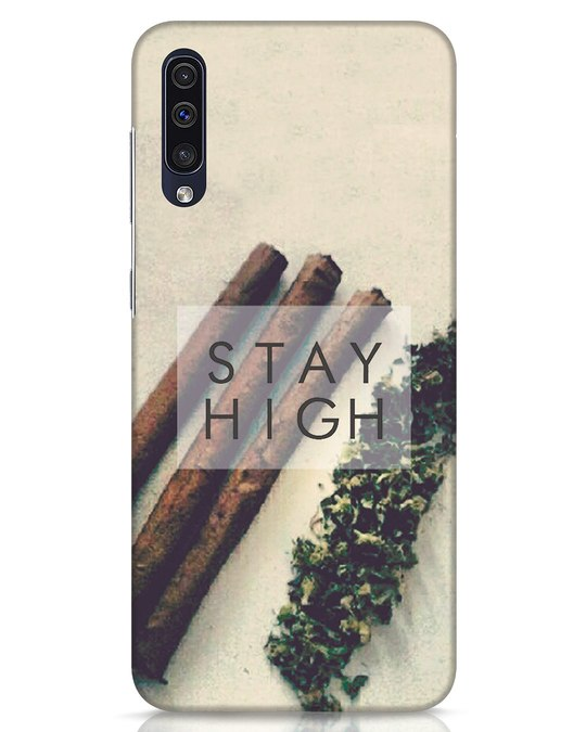 Shop Stay High Samsung Galaxy A50 Mobile Cover-Front