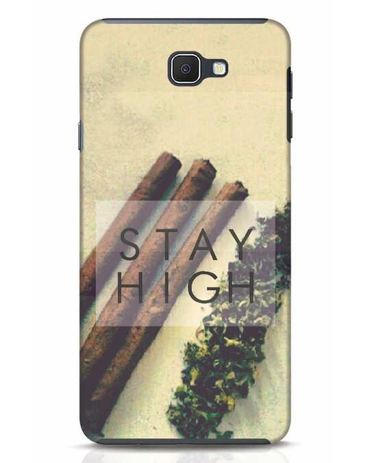 Shop Stay High Samsung Galaxy J7 Prime Mobile Cover-Front