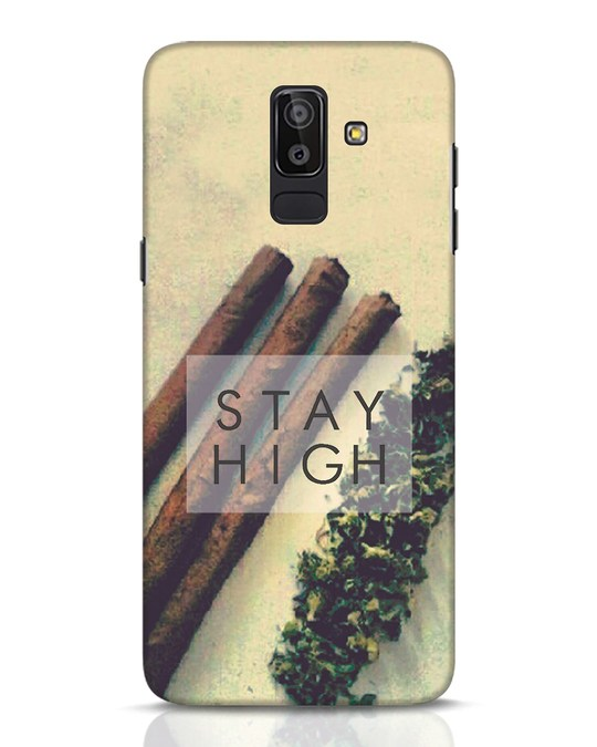 Shop Stay High Samsung Galaxy J8 Mobile Cover-Front