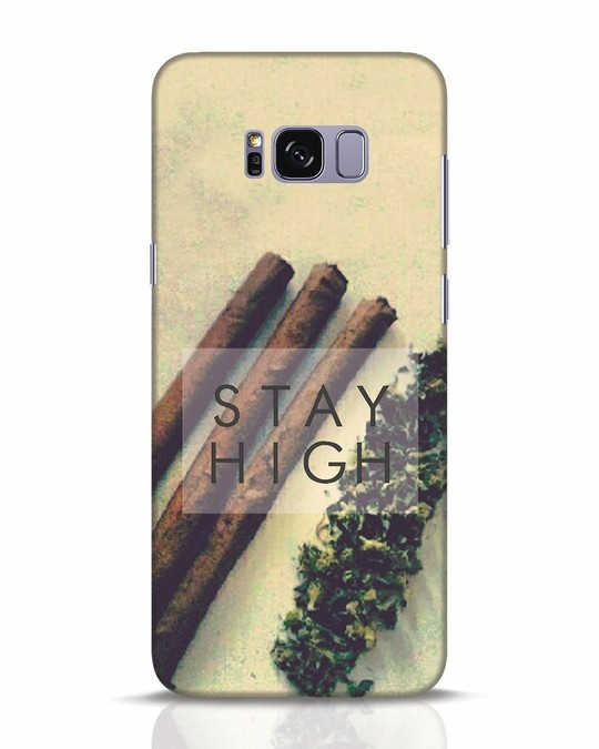 Shop Stay High Samsung Galaxy S8 Plus Mobile Cover-Front
