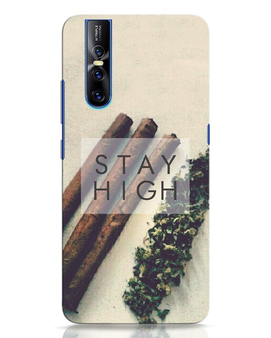 Shop Stay High Vivo V15 Pro Mobile Cover-Front