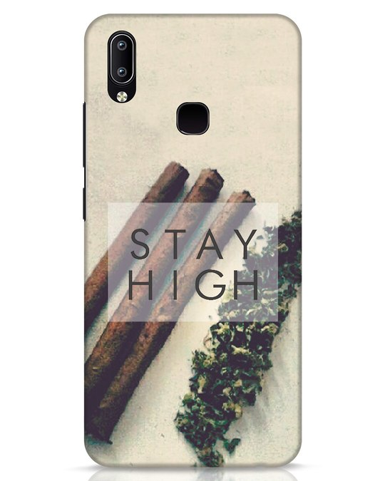 Shop Stay High Vivo Y91 Mobile Cover-Front