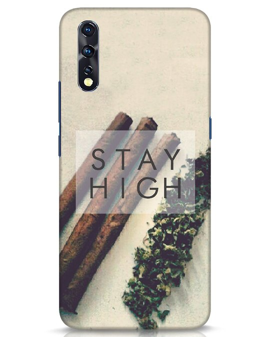 Shop Stay High Vivo Z1x Mobile Cover-Front