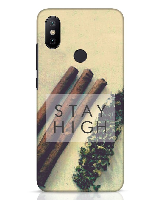 Shop Stay High Xiaomi Mi A2 Mobile Cover-Front