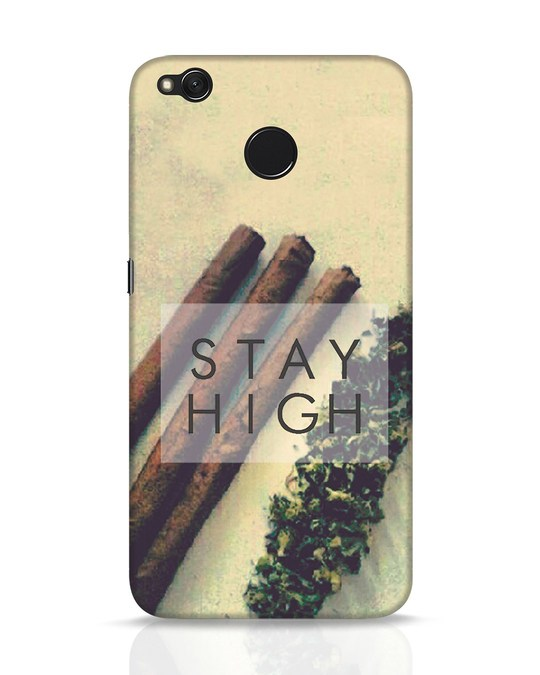 Shop Stay High Xiaomi Redmi 4 Mobile Cover-Front