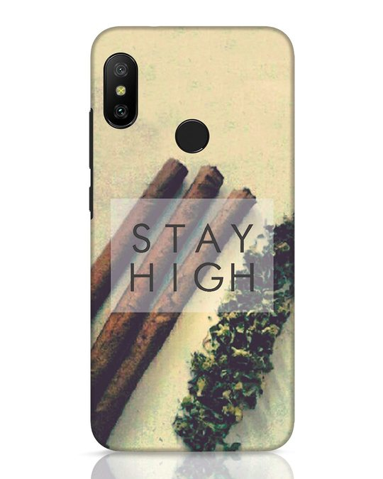 Shop Stay High Xiaomi Redmi 6 Pro Mobile Cover-Front