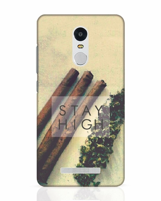Shop Stay High Xiaomi Redmi Note 3 Mobile Cover-Front
