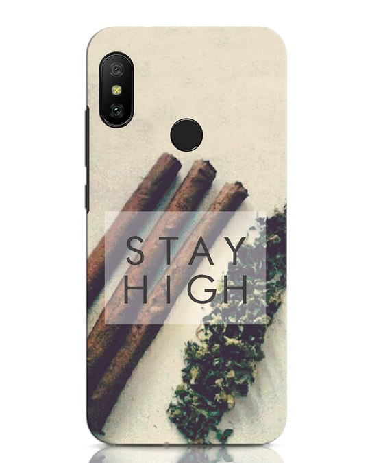 Shop Stay High Xiaomi Redmi Note 6 Pro Mobile Cover-Front