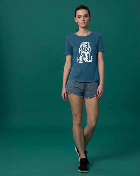Shop Stay Humble Basic Round Hem T-Shirt