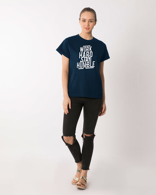 Shop Stay Humble Boyfriend T-Shirt