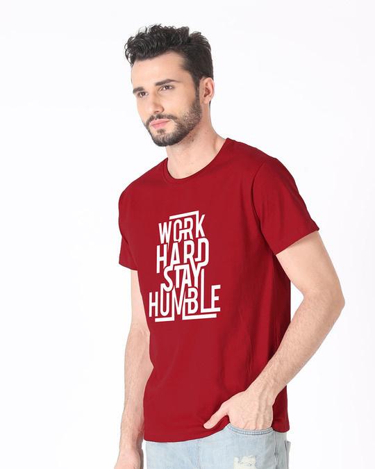 Shop Stay Humble Half Sleeve T-Shirt-Full