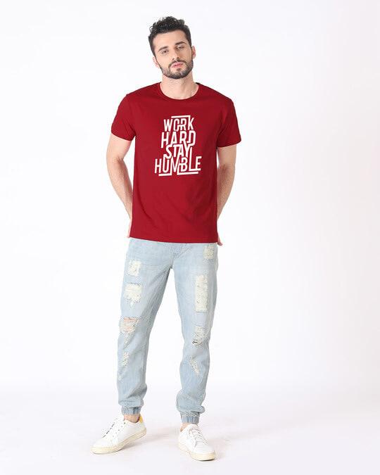 Shop Stay Humble Half Sleeve T-Shirt
