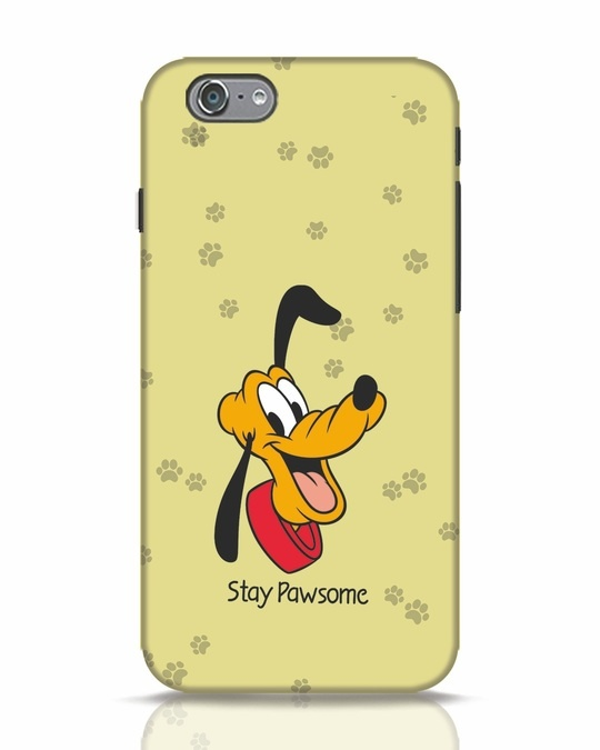 Shop Stay Pawsome iPhone 6s Mobile Cover-Front