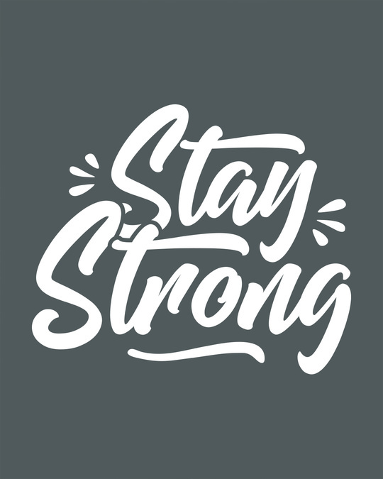 Shop Stay Strong Boyfriend T-Shirt-Full
