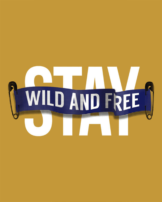 Shop Stay Wild And Free Full Sleeve T-Shirt-Full