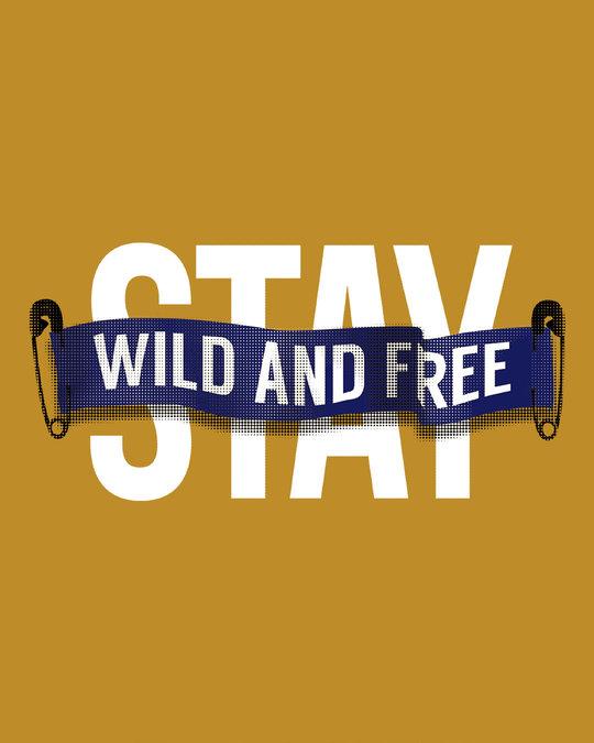Shop Stay Wild And Free Sweatshirt-Full