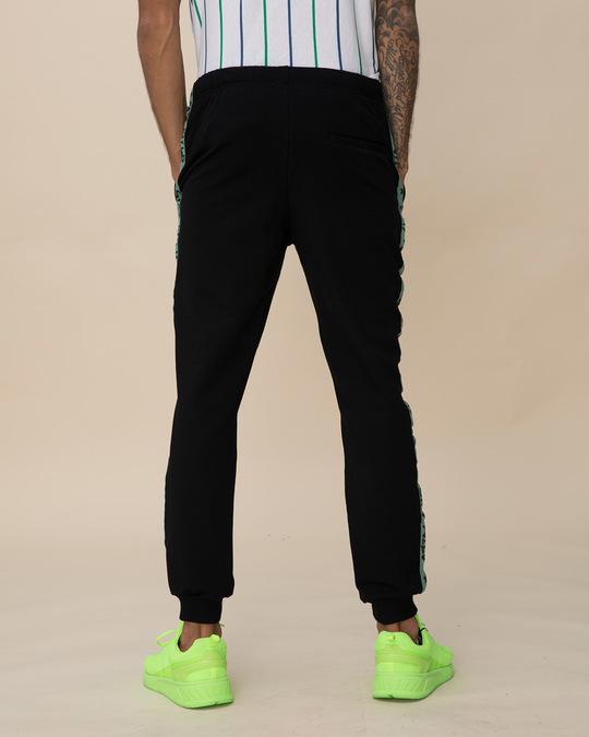Shop Stay Wild Fleece Sports Trim Joggers-Design