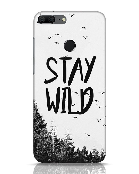 Shop Stay Wild Huawei Honor 9 Lite Mobile Cover-Front
