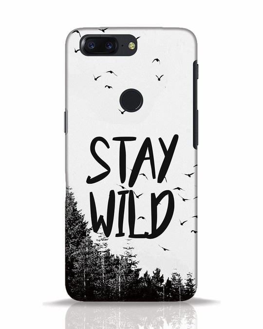 Shop Stay Wild OnePlus 5T Mobile Cover-Front