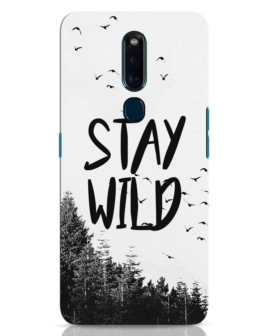 Shop Stay Wild Oppo F11 Pro Mobile Cover-Front
