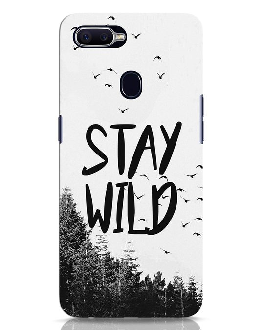 Shop Stay Wild Oppo F9 Pro Mobile Cover-Front