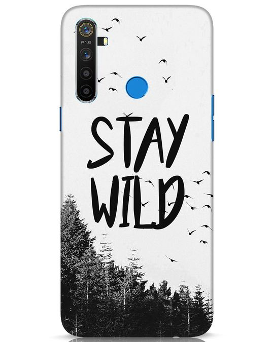 Shop Stay Wild Realme 5 Mobile Cover-Front