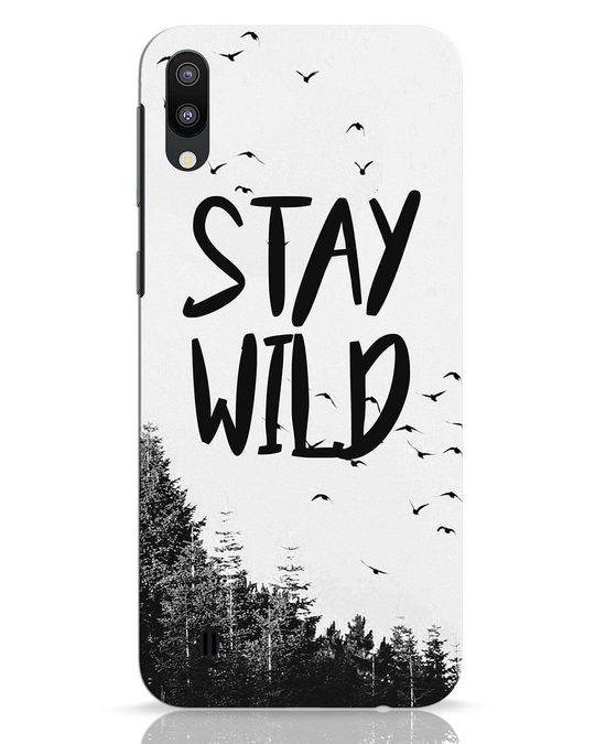 Shop Stay Wild Samsung Galaxy M10 Mobile Cover-Front