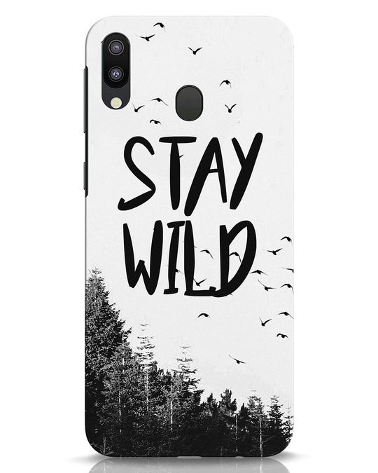Shop Stay Wild Samsung Galaxy M20 Mobile Cover-Front