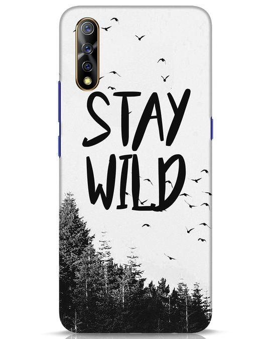 Shop Stay Wild Vivo S1 Mobile Cover-Front