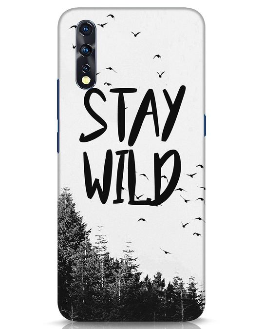 Shop Stay Wild Vivo Z1x Mobile Cover-Front