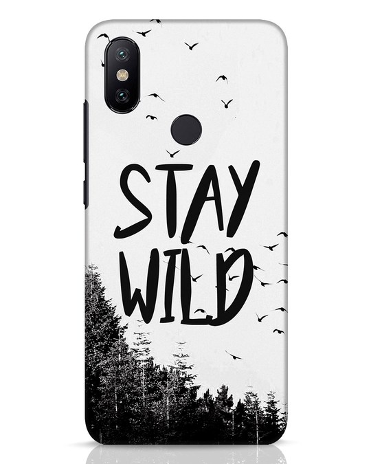 Shop Stay Wild Xiaomi Mi A2 Mobile Cover-Front