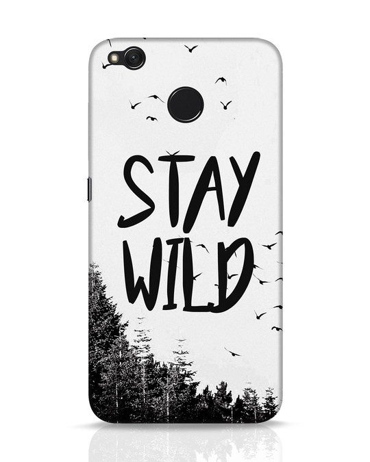 Shop Stay Wild Xiaomi Redmi 4 Mobile Cover-Front